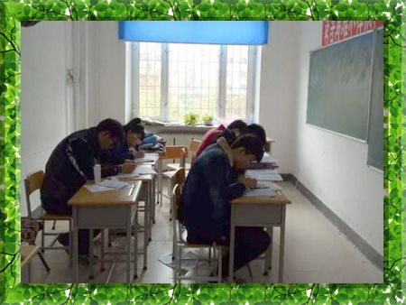 图片为哈尔滨新发展高考特训营学生上课现场照片